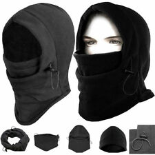 6 in 1 Fleece Thermal Balaclava Sports Motorcycle Bike Ski Face Mask Hat Warmer