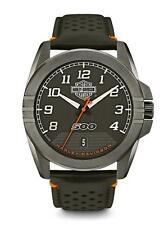 Brand New Men's Harley-Davidson Watch #78B143 By Bulova