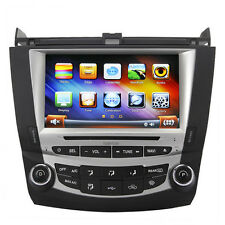 "Koolertron US 8"" Autoradio GPS Navigation DVD Stereo for 2003-2007 Honda Accord"