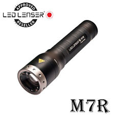 NEW LED LENSER M7R 8307-R 400LM USB Rechargeable Flashlight Torch IN Retail Box