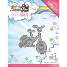 Yvonne creaciones/Triciclo/Tots & Niños Pequeños/marco/Die/Corte/YCD10095