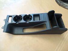01-06 BMW E46 M3 330CI CENTER CONSOLE STORAGE COMPARTMENT BLACK OEM 2038