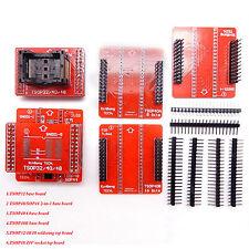 6pcs Adapter Set SOP TSOP32/40/48 Socket for USB Bios Programmer TL866CS TL866A