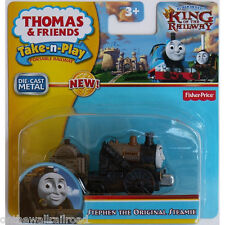 TAKE n PLAY Die-Cast RUSTY STEPHEN Thomas Tank Fisher Price Along KING RAILWAY