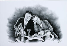 Laurel & Hardy by RARE Limited Edition Silent Movies Stan Laurel & Oliver Hardy