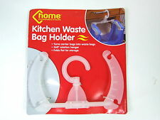 Kitchen Hanging Rubbish Waste Bag Holder Carrier Bag Bin Caravan Camping Tent