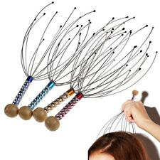 New Head Massager Neck Massage Octopus Scalp Stress Relax Spa Therapy Healing #w