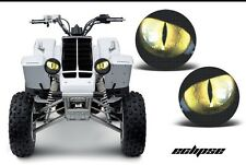 Yamaha Banshee 350 quad headlight stickers Graphics Eyes Accessories