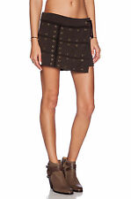 NWOT NEW WOMEN'S FREE PEOPLE BLACK WANDERLUST WRAP SKORT SHORTS SIZE SMALL