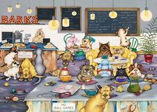 NEW! Gibsons Barks Cafe by Linda Jane Smith 1000 piece jigsaw puzzle