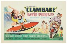 "ELVIS - CLAMBAKE - MOVIE POSTER 18"" x 12"""