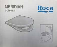 ROCA MERIDIAN COMPACT Toilet Seat & Cover with Soft Closing Hinges 8012AB004