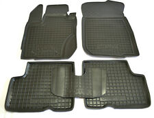 Dacia Duster 2015 2016 Rubber Car Floor Mats All Weather Custom Fit Carmats