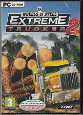 18 Wheels of Steel: Extreme Trucker 2  PC Brand New Sealed Fast Shipping