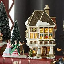 Department 56 Dickens Christmas Carol Village Nephew Fred's Home Lit House, 8.07