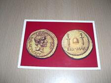 """CP Carte Postale """"Monnaie Romaine"""""""