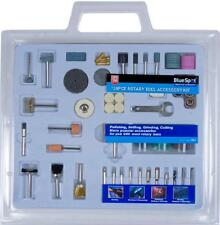 Mini Rotary Drill Hobby Tool Kit 138pc Bit Set Fits Dremel Type Multi Tool