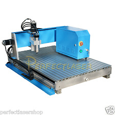 800W CNC Router RS-6090 Engraver Engraving Drilling/Milling Machine Ball Screw