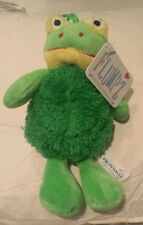 "RUSSKO  FLUMPZ  FROG 7"" plush soft toy"