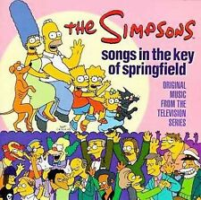 Songs in the Key of Springfield by The Simpsons (Cartoon) (CD, 1997) Music CD