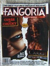FANGORIA MAGAZINE # 327 SEPT 2013 CURSE OF CHUCKY CARRIE LIVING DEAD III