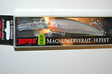 "rapala xrap x-rap magnum xrmag-10 ggh 4 3/8"" 3/4 oz glass ghost saltwater lure"