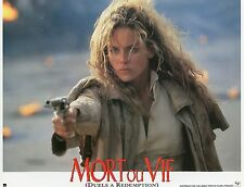 SHARON STONE THE QUICK AND THE DEAD MORT OU VIF 1995 VINTAGE LOBBY CARD N°2