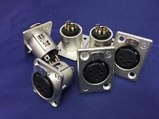 NEUTRIK - NC5FP1 - XLR SOCKET, 5 PIN, Panel Mount