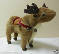 "MNWT 10' Bearington Bears ""BELL V. DEER"" "" #1570 CUTE!!Christmas Decor FREE SHIP"