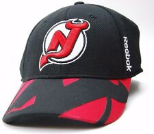 NEW JERSEY DEVILS REEBOK M563Z NHL CENTER ICE STRUCTURED HOCKEY CAP/HAT  L/XL