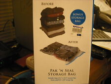 Space Vaccuum Bag 1 Large & 1 Small