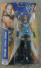 WWE Mattel basic Rob Van Dam #26 Wrestling Action Figure HOF legend RAW