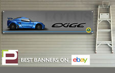 S1 Lotus Exige Banner para taller, garaje, Pit Lane, Cueva de hombre, pista