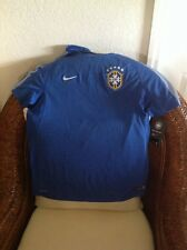 Brasil CBF Football/Soccer Nike dri- fit futbol training Jersey NWTsize XL Youth