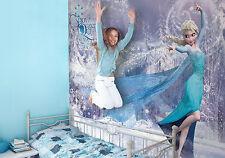 Géant papier peint 368x254cm frozen elsa mural fille chambre disney