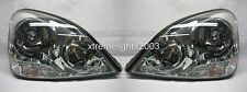 LEXUS LS430 2001-2003 HID XENON HEADLIGHTS HEAD LAMPS LIGHTS PAIR SET