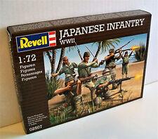REVELL 02507 PLASTICA NON VERNICIATA modello SOLDATI SECONDA GUERRA MONDIALE fanteria giapponese scala 1:72