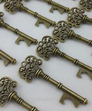 100 Antique Skeleton Key Bottle Openers Wedding Favor Party Bridal Baby Shower