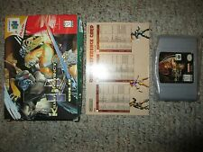 Killer Instinct Gold (Nintendo 64 N64) with Box & Reference Card GOOD