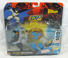 The Batman EXP Solo Strike Vehicle with Batman Mattel NIP 4+ S76-3