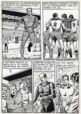 FINALE DE COUPE FOOTBALL (ROBERT HUGUES) PLANCHE ORIGINALE PILAR SANTOS PAGE 27