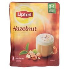 Malaysia Lipton 3 In 1 Hazelnut Milk Tea Latte 12s x 21g Instant Premium  Mix