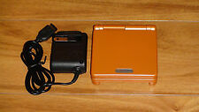 Nintendo Game Boy Advance GBA SP Bright Orange System MINT NEW!