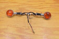 85 YAMAHA MAXIM X XJ700 XJ 700 FRONT TURN SIGNAL SET LEFT RIGHT INDICATORS