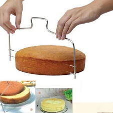 Adjustable Wire Cake Slicer Leveler Pizza Dough Cutter Trimmer Stainless steel