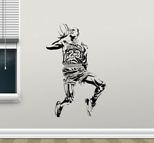 Michael Jordan Wall Decal Basketball Vinyl Sticker Art Poster Gym Decor 105nnn