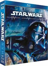 PELICULA BLURAY SAGA STAR WARS EPISODIO 4 + 5 + 6 PRECINTADO