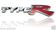 TOYOTA TRD color 3D Chrome Car Badge Emblem a12
