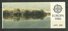 GRIECHENLAND/ CEPT 1986 MiNr 1630/31 C ** im MH 5
