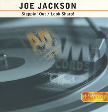 JOE JACKSON Steppin' Out + Look Sharp! (1996 U.S. 2 Track CD Single)